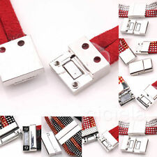New 10 Sets Silver Plated Magnetic Clasps Connectors Bracelet Jewelry Making