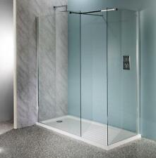 Walk In Shower Enclosure Wet Room Tall Cubicle Easyclean 10mm Glass Screen Panel