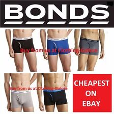 MENS BONDS GUYFRONT TRUNK UNDERWEAR BLACK WHITE NAVY GREY SHORTS - S M L XL 2XL