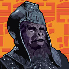 PLANET OF THE APES pop art print signed limited edition