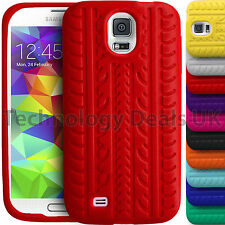 Soft Silicone Case Tyre Tread Gel Rubber Grip Cover For Samsung S3 Mini S4 S5 S3
