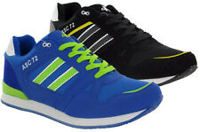 Mens New Gym Running Jogger Lace Up Athletics Sports Trainers Shoes Size 6-11