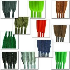 Flat 5mm Laces Various Lengths for Shoes Trainers Boots Plimsoles
