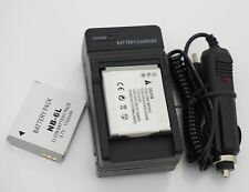 Li-ion Battery /Charger For Canon PowerShot SX170 IS and SX500 IS Digital Camera