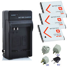 New Battery / Charger Kits for Sony Cyber-shot DSC-W800,DSC-W810,DSC-W830 Camera
