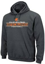 Cleveland Browns NFL Squib Kick Mens Pullover Hoodie Charcoal Big & Tall Sizes