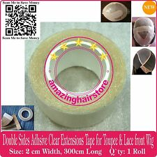 2cm Double Side Tape 4 Skin Weft Tape Hair Extensions Wig Toupee Hair Piece Tape