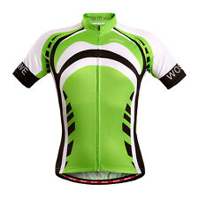 New Men Cycling Bike Short Sleeve Shirt Clothing Bicycle Sports Jersey Top S-2XL