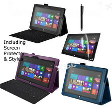 """Case Cover + Stylus & Screen Protector for 10.6"""" Microsoft Surface RT2 / RT Tab"""