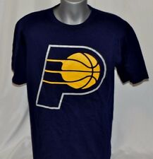 New Navy Blue Indiana Pacers Paul George #24 Short Sleeve Men's Shirt T-Shirt