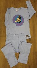 Wallace & Gromit shaun the sheep Junior girls/boys blue 100% cotton pyjama set