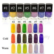 Color Changing Nail Polish Thermal Temperature Nail Art Varnish 6ml Born Pretty