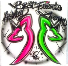 BEST FRIENDS!!!! Custom T-shirts Airbrushed Any Color Browning Does Any Saying!!