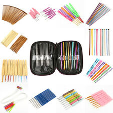 Various of Aluminum Metal Plastic Bamboo Crochet Hooks Knitting Needles Set FAT