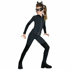 Batman Catwoman Costume for Kids Girls Women Superhero Cat Woman Halloween Dress