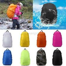 Solid New Waterproof Dust Rain Cover For Travel Camping Backpack Rucksack Bag