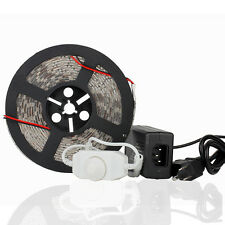 Power+Dimmer+Nature White SMD 5050/3528 5M 300/600 LED Strip Light Waterproof