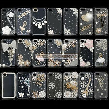 Luxury Bling 3D Crystal Diamond Clear Hard Case Cover For Latest Apple iPhone