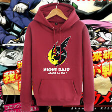Anime Akame ga KILL! NIGHT RAID Tatsumi Coat Cosplay Sweater Hoodies 5 Color