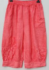 Miami by Sarah Santos 7/8 Linen Pants Layered look Baggy trousers Size M to 3XL