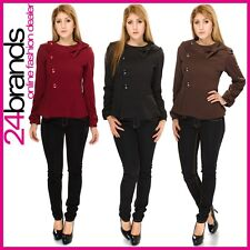 Ladies Jacket Buisiness Blazer Sexy Cardigan Business Look Pullover Blazer New