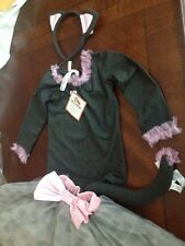 Pottery Barn Kids Gray Kitty tutu Costume  3T NWT