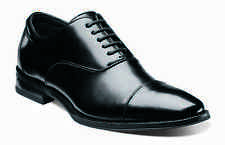 Stacy Adams Mens Black Kordell Leather Cap Toe Business Casual Oxford Dress Shoe