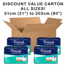 Disposable Incontinence Pull Up Underwear Pants Pads VALUE CARTON 5 SIZES