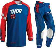 Thor Phase Ramble Navy/Red Adult Pant & Jersey Riding Gear Combo Mx Atv