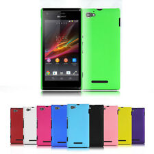 1Pc Slim Frosted Matte Hard Plastic PC Case Cover Skin For Sony Xperia M C1905