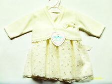 BABY GIRL IVORY SPECIAL OCCASION 2 PIECE OUTFIT