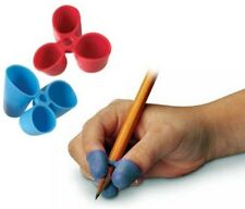 The Writing Claw Pencil Grip [Large] Aid Occupational Therapy WCL Blue & Red