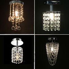 Modern Ceiling Suspension Crystal Light Droplight Chandelier Pendant Lamp