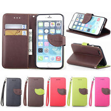 Luxury Leather Flip Wallet Card  Slot Case Stand Cover For Latest Mobile Phone