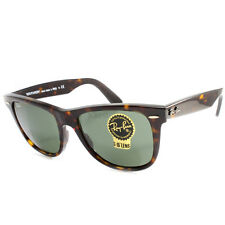 Ray Ban RB2140 902 Original Wayfarer Tortoise/Green Sunglasses Size 47 50 54