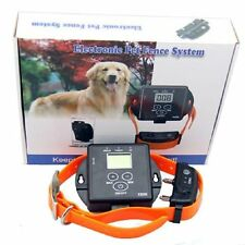 New Wireless In-Ground Remote Pet Dog Electronic Fencing System Waterproof