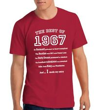 Mens 50th Birthday T Shirt Gift - The Best of 1966