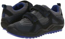 Geox Boys J Attack A Dark Grey Royal Blue Sneaker