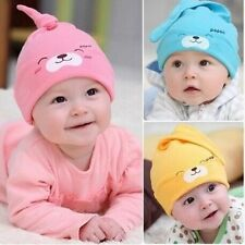 Cute Soft Crochet Newborn Unisex Baby Boy Girl Hat Infant Cotton Beanie Warm Cap