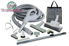 30' Low Voltage Central Vacuum Kit w/Air Driven Power Nozzle & Tools Electrolux