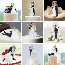 High Quality Bride & Groom Wedding Cake Topper Romantic Wedding Party Decor JD3D