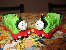 Thomas the Tank Engine & Friends ERTL Percy #6 1987 Lot of 2 Trains
