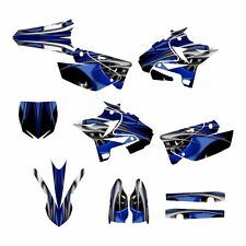 2002 - 2014 YZ125 YZ250 Graphics UFO Restyled kit #4444 Blue Tribal