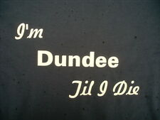 Scottish Dundee T-Shirts & Sweat Shirts Inc 4XL 5XL Personalised Birthday Gift