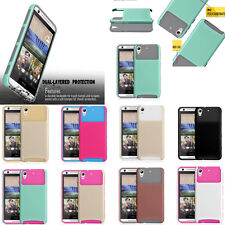 New Hybrid Armor Hard Protective Case Impact Cover For HTC Desire 626 626S