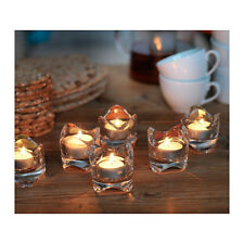 New IKEA Clear Glass Candle Holders -- Votive Candle or Tealight - 2/3/4/5/6