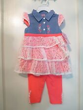 Nannette Girls 2pc Set (New With Tags) - Size 4T