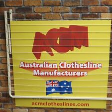 FOLD DOWN CLOTHESLINE WALL MOUNTED 1800mm X 1200mm Australian made