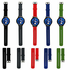 Sports Silicone Watch Band Strap with Stainless Steel Buckle for Huawei Watch GB