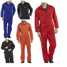 MENS CLICK ORIGINAL HEAVY WEIGHT POLYCOTTON BOILERSUIT COVERALL OVERALL
